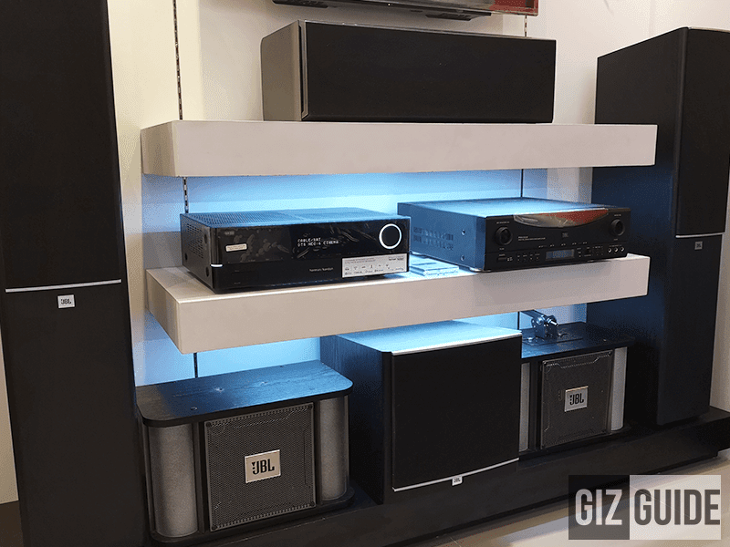 Home audio products