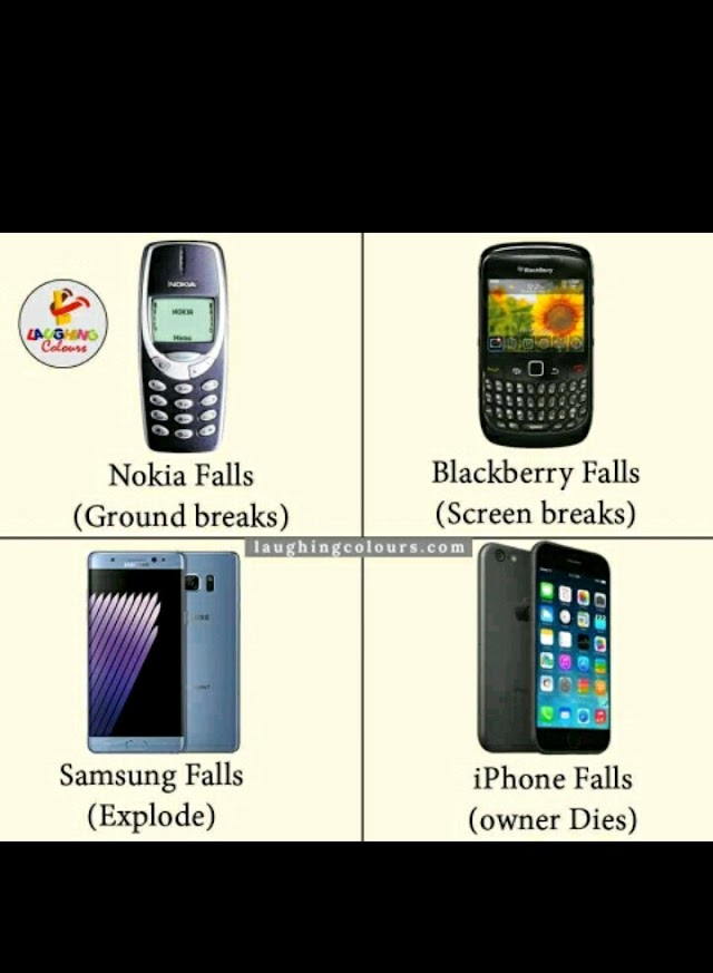 Funny- See What Happens When Your Smartphone Falls
