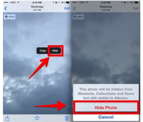 cara menyembunyikan foto dan video di iphone tanpa aplikasi
