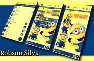 Minions Theme For GBWhatsApp By Robson