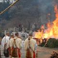 Hiwatari Matsuri, the fire festival at Mount Takao
