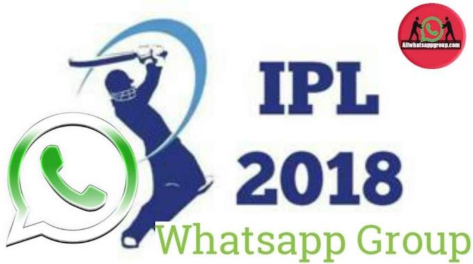 VIVO IPL 2018 Whatsapp Group Link Join All IPL Fans