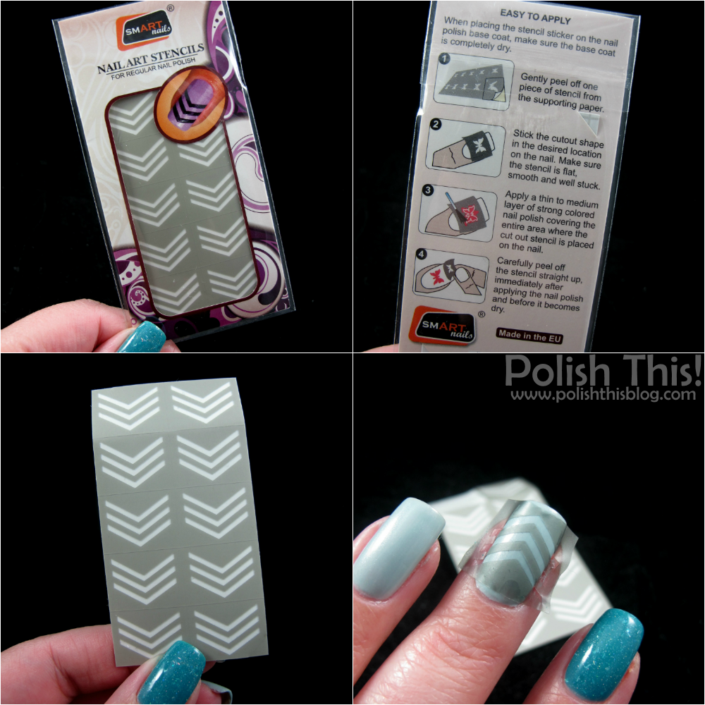 Smart nail art stencils polish this all of the stencils come in these similar packages where you have 10 pieces and each one costs 199 ten doesnt sound that much its one manicure if you prinsesfo Gallery