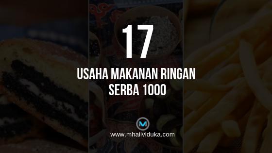 Usaha Makanan Ringan Serba 1000