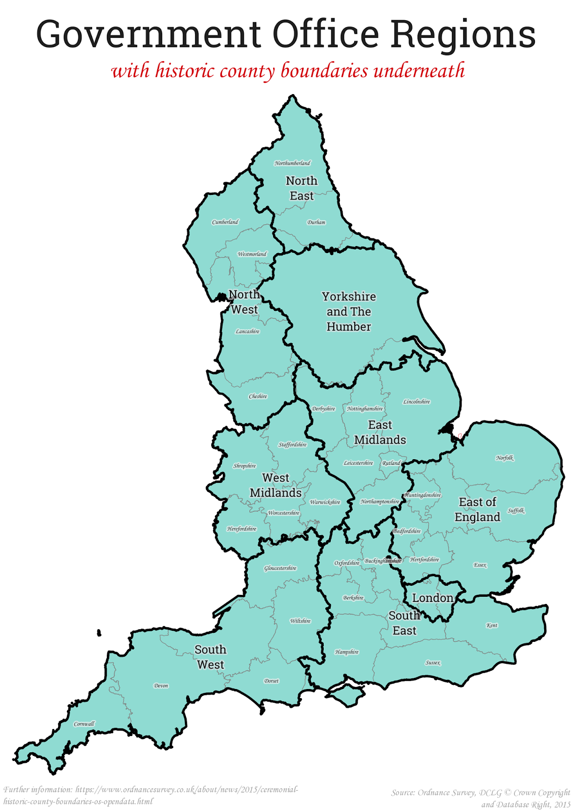 Stats Maps N Pix The 8 English Regions Of A Federal Uk