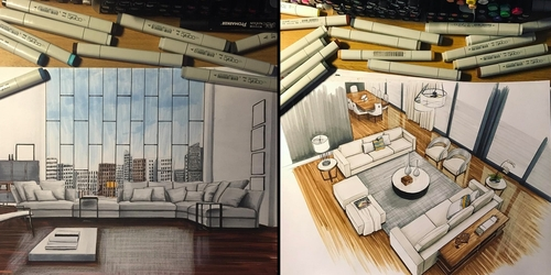 00-Daniel-Wikström-Drawings-of-Architecture-and-Interior-Design-www-designstack-co