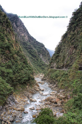 Liwu River and Taroko Gorge, Taroko National Park, Taiwan