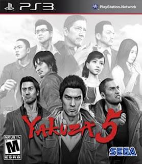 Yakuza 5 PSN PS3 free download full version