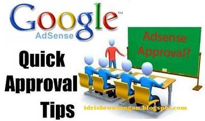 Cara Mudah Approved Google Adsense
