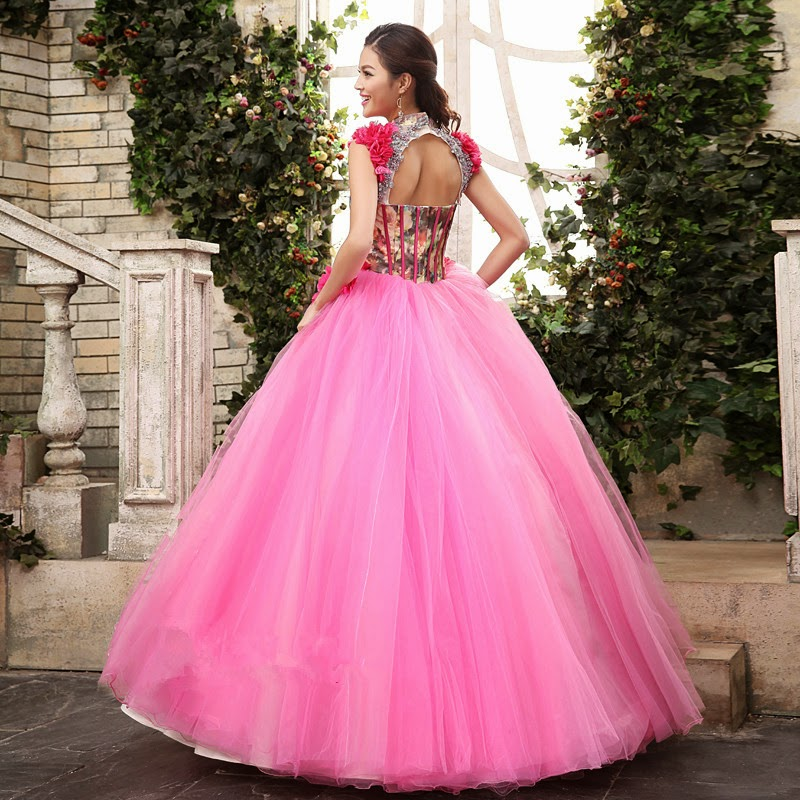 Wedding Ball Gowns 2014: Pre-Wedding Photography Pink Ball Gown :: My Gown Dress