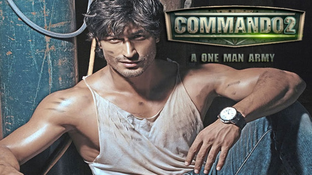Complete cast and crew of Commando 2 (2017) bollywood hindi movie wiki, poster, Trailer, music list - Vidyut Jamwal and  Adah Sharma, Movie release date 3 March, 2017