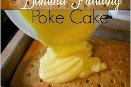 Banana Pudding Poke Cake | Rahasia Masak