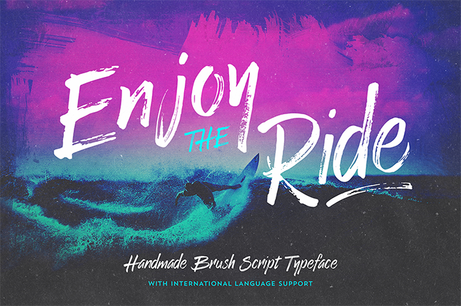 Enjoy the Ride - Typeface - Vintage Design Co.