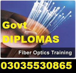 Fiber Optics TELECOMMUNICATION DIPLOMA IN RAWALPINDI 03035530865 IN RAWALPINDI