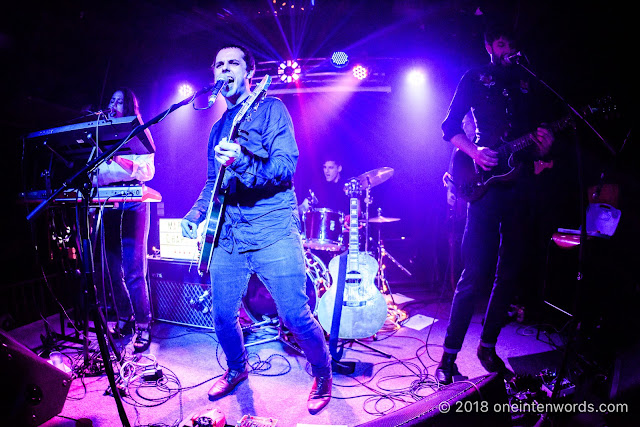 Marlon Chaplin at The Piston for the release of The Circle on August 30, 2018 Photo by John Ordean at One In Ten Words oneintenwords.com toronto indie alternative live music blog concert photography pictures photos