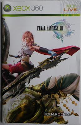 Final Fantasy XIII - Manual portada