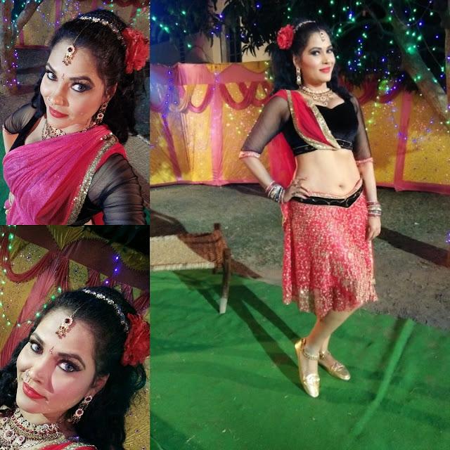Seema Singh 2019 HD Wallpaper backless dress