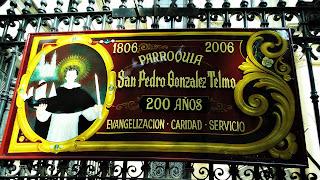 Placa Igreja de San Telmo, Buenos Aires