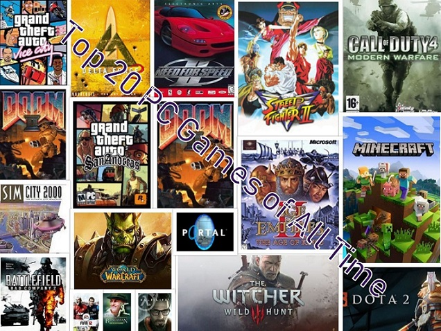 Best Game of All Times - Top 20 PC Games