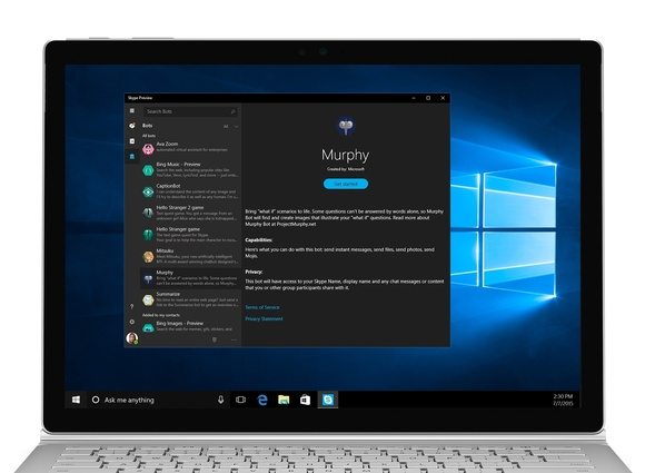 The Skype updates come two weeks before the launch of the next big Windows 10 update