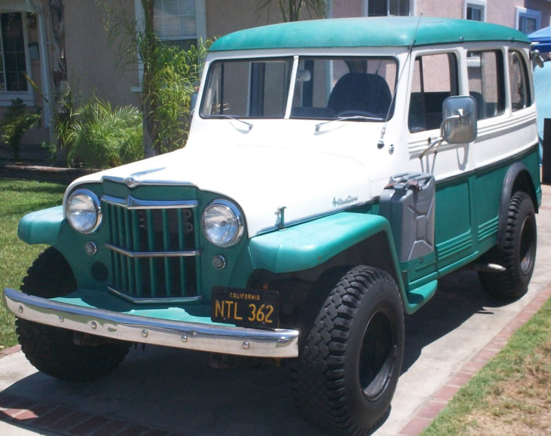 Daily Turismo: 5k: Surf Mobile: 1959 Willys Wagon