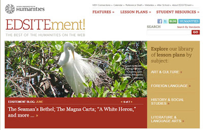 EDSITEment! The Best of the Humanities on the Web