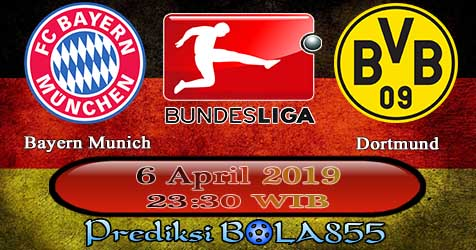 Prediksi Bola855 Bayern Munich vs Dortmund 6 April 2019