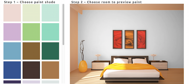 Decor Tips With #PaintFinder At Bed Bath And More