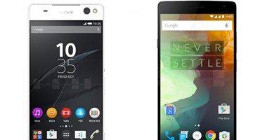 مقارنة بين هاتفي Xperia C5 Ultra وOnePlus Two