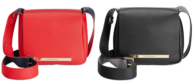 Tommy Hilfiger Sienna Small Saddle Bag $23 (reg $88)