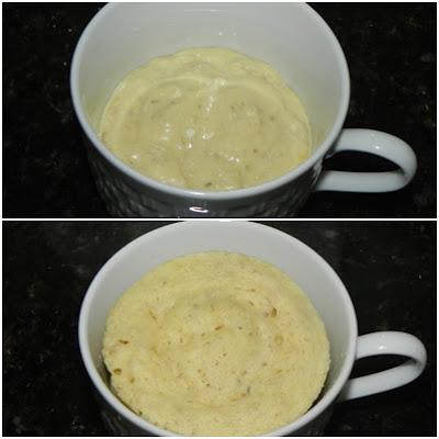 como fazer pão no microondas
