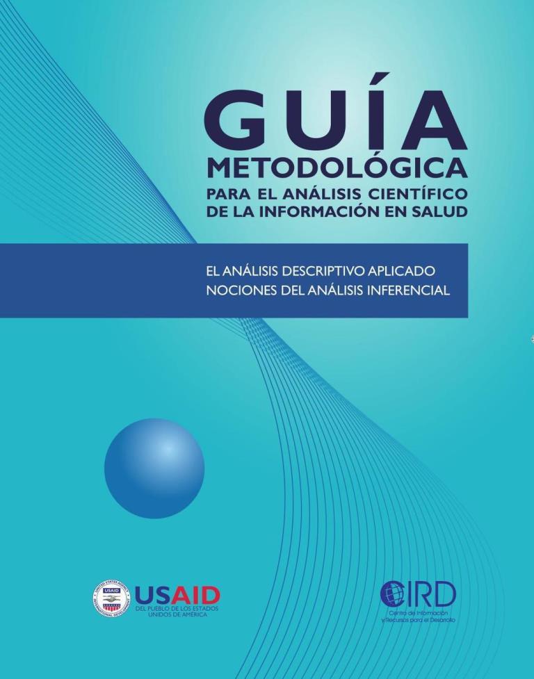 Guía metodológica para el análisis científico de la información en salud