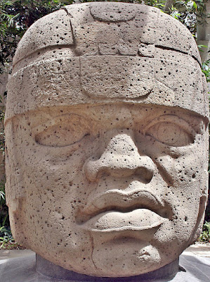 Olmec Stone Head - San Lorenzo Colossal Head 1