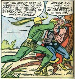 Journey Into Mystery 108 Loki Thor