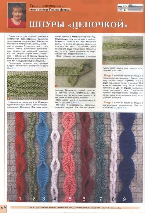 Como hacer Cuerdas de Crochet