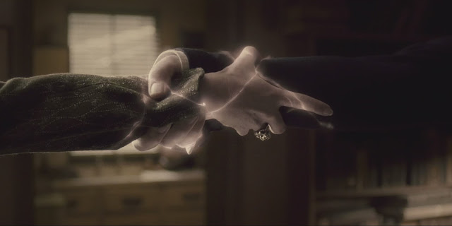Снейп дава нерушимата клетва в Хари Потър и нечистокръвния принц