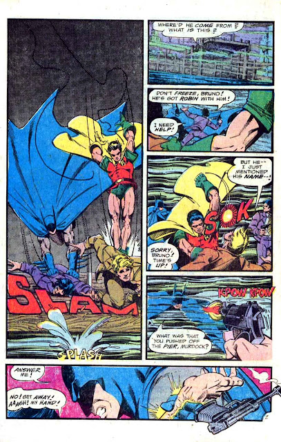 Detective Comics v1 #473 dc comic book page art by Marshall Rogers