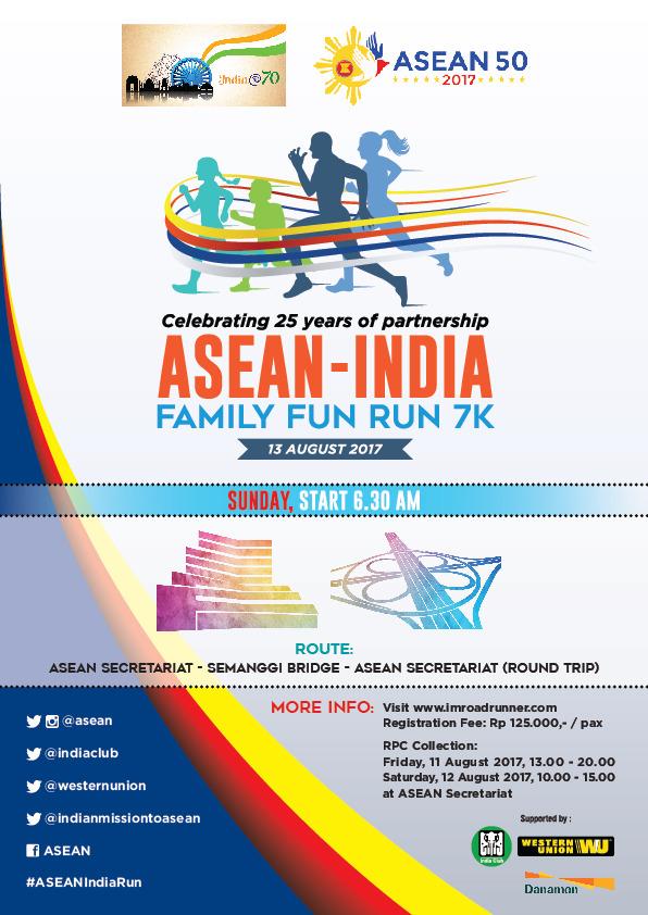Asean-India Fun Run • 2017