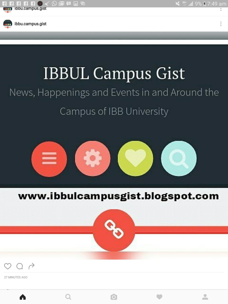 October 2016 ~ IBBUL Campus Gist