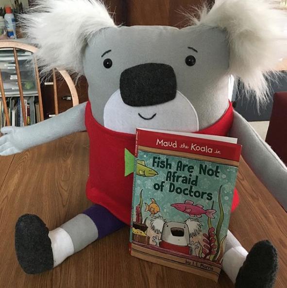 Jennifer E  Morris: Maud the Koala Plush Sweepstakes