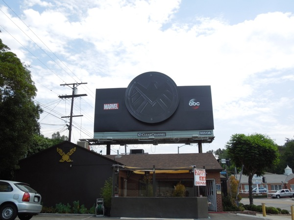 Agents of S.H.I.E.L.D. teaser billboard