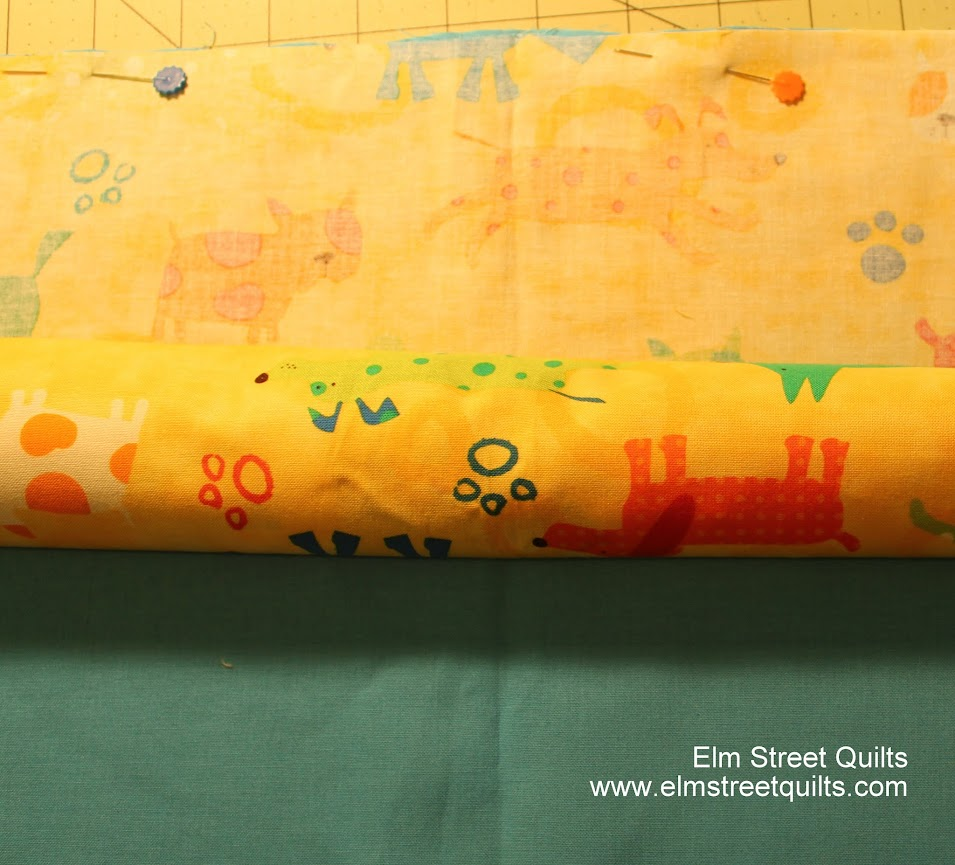 sewing pillowcase