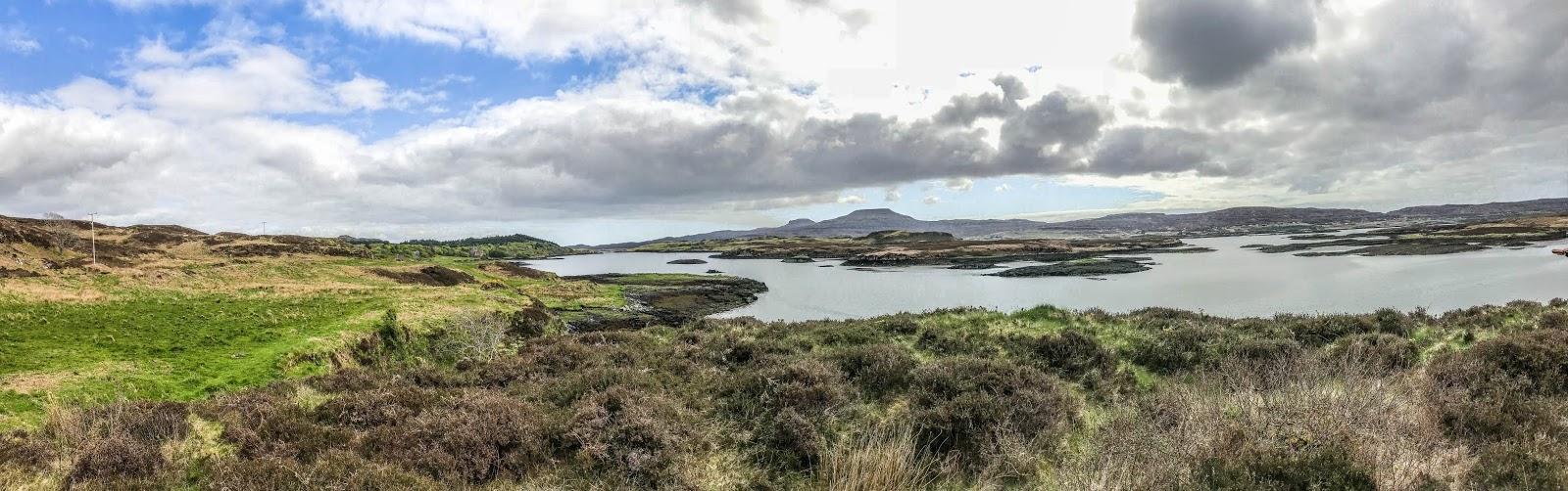 Isle of skye, scotland, loch, summer in scotland