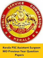 Kerala PSC Assistant Surgeon MO Previous Year Question Papers