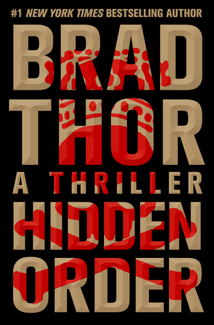 Hidden Order by Brad Thor – front cover