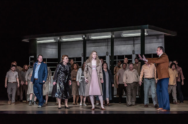 Janacek: Kat'a Kabanova - Andrew Staples, Susan Bickley, Amanda Majeski,  Pavel Cernoch- Royal Opera House (Photo ROH/Clive Barda)