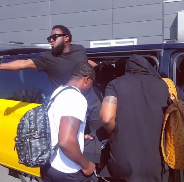 Timaya turns Oshodi bus conductor in Denmark