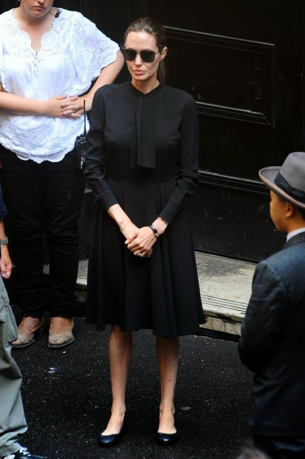 Angelina Jolie And Her Braless Nips | Celebrities Nude
