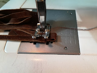 sew on loop on leather tassel craftrebella