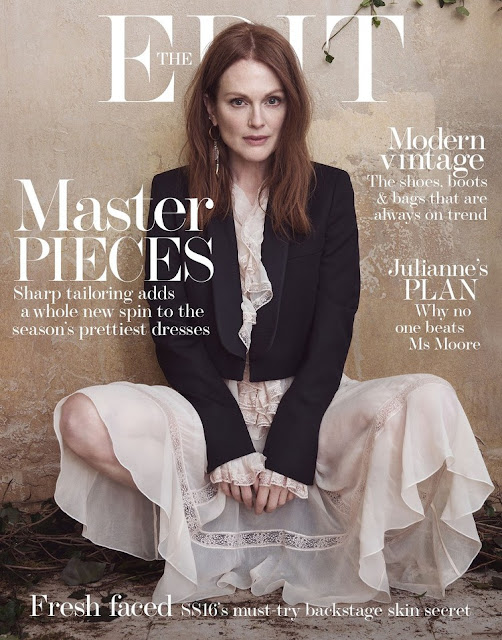 Actress, @ Julianne Moore - The Edit, May 2016